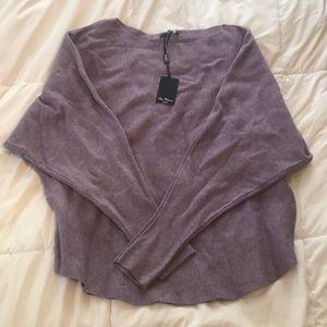 Vila Milano Sweaters - Beautiful Heather Lilac Sweater